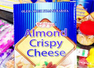 almond crispy cheese bogajaya