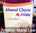 Almond Crispy Cheese Maria Law