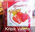 Kripik Valens Strawberry