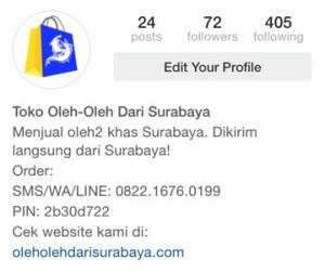 instagram oleh-oleh dari surabaya