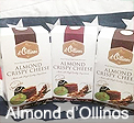 Almond Crispy Cheese d'Ollinos