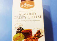 almond crispy cheese d'ollinos