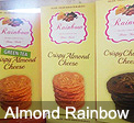 Almond Crispy Cheese Rainbow